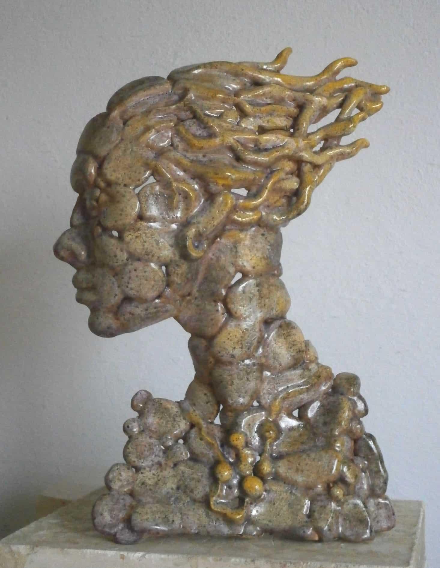 profil ażurowy 2 36x25x13 ceramika szkliwiona