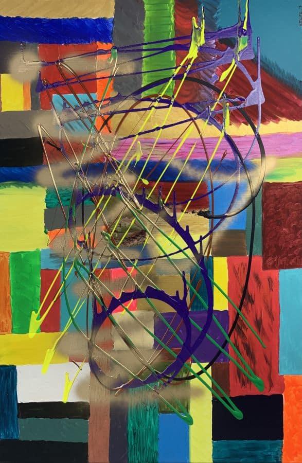 Juliusz Kegel 120x80 akryl na płótnie